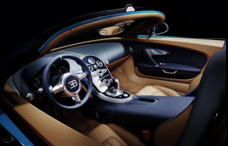 Bugatti 3b Interior