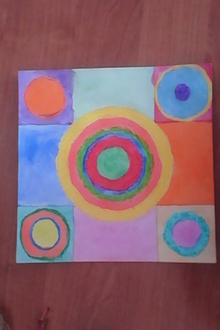 Vasilij Kandinsky - Soustředné kruhy