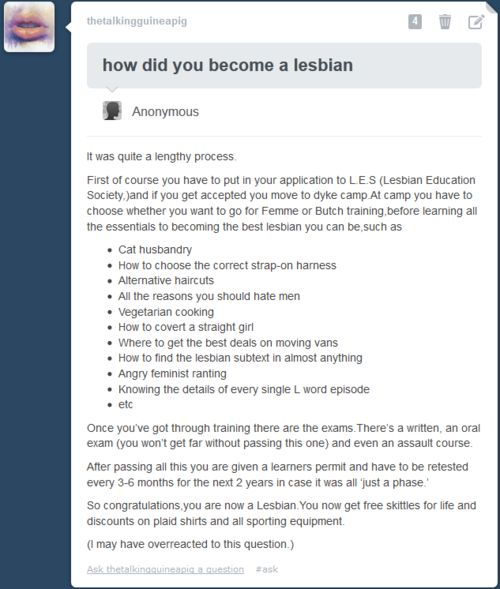 How To Become A Lesbian