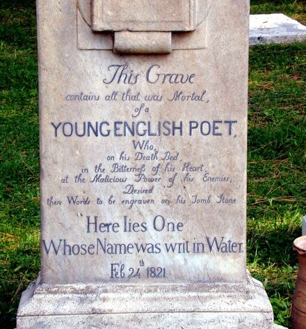 John Keats, an amazing poet and true Romantic.