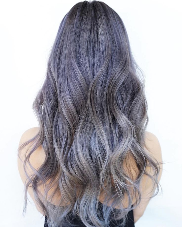 Discover All The Fifty Shades Of Silver Ombre Hair