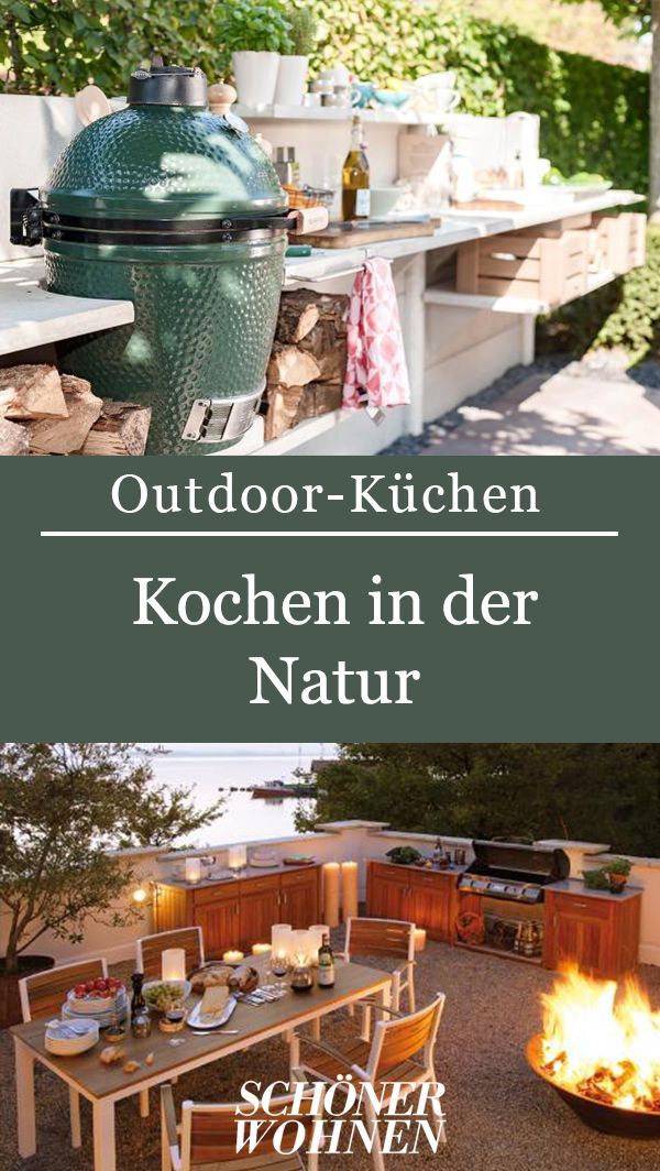 Aussenkuche Genussvoll Draussen Kochen Outdoor Kuche Outdoor Outdoor Kuchen Ideen