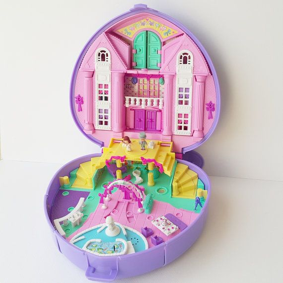 1994 Polly Pocket Polly's Wonderful by PollyPocketWorldShop