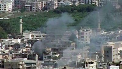 Campos de refugiados palestinos convertidos en arsenales