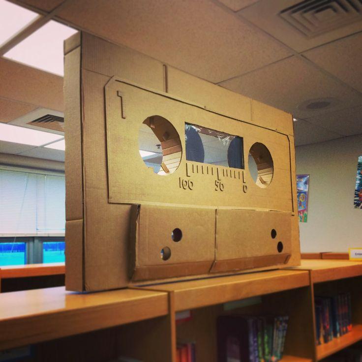 Art @ Massac: Cardboard Sculptures