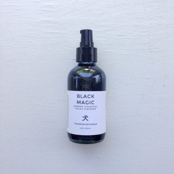 Black Magic I M In Love With The Charcoal: BLACK MAGIC. Activated Charcoal Face Wash, Bamboo Charcoal