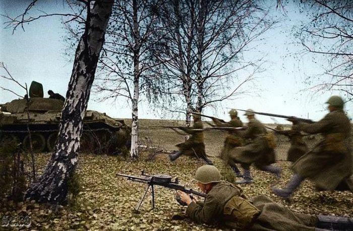Cvetnye Frontovye Fotografii Velikoj Otechestvennoj Vojny 33