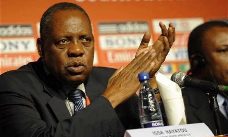 Issa Hayatou: «La CAF et la Guinée équatoriale déterminées à relever le défi de l'organisation de la CAN 2015» - 04/12/2014 - http://www.camerpost.com/issa-hayatou-la-caf-et-la-guinee-equatoriale-determinees-a-relever-le-defi-de-lorganisation-de-la-can-2015-04122014/?utm_source=PN&utm_medium=CAMER+POST&utm_campaign=SNAP%2Bfrom%2BCamer+Post