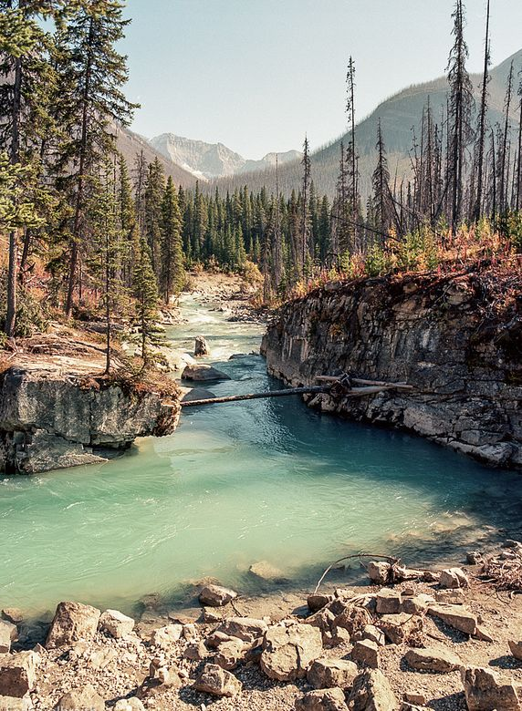 Marble Canyon, Canada