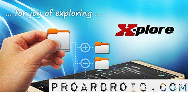تطبيق X-plore File Manager v4 11 06 لإدارة الملفات والمهام