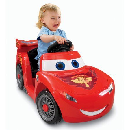 Fisher-Price Power Wheels Disney Pixar Cars Lil' Lightning McQueen, Multicolor
