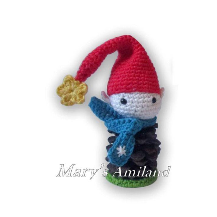 Pine Cone Elf - Amigurumi Crochet Pattern | Craftsy