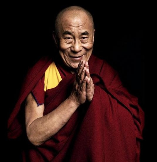 HH The 14th Dalai Lama - love this picture!