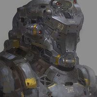 Here is a stuff I did 2 years ago,a full detail mech design for a CG animation we made in Shanghai China。The colour is a little different after I uploaded it ,anyway,Hope you like it,Cheers !