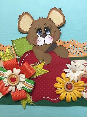 TWAG ROSA Autumn Fall Border Set Tear Bear Paper Piecing