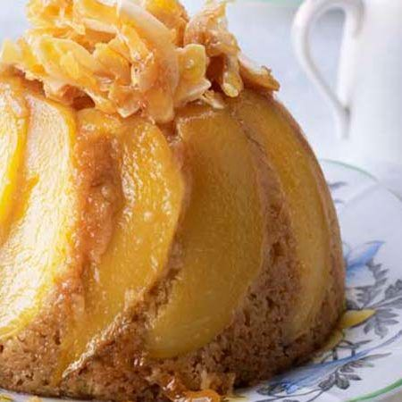 Yan from GBBO shares her recipes of her Mango Fruit Hat Pudding