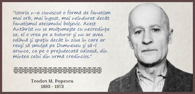 Comunismul a vrut să-l smulgă pe Dumnezeu din inima fiecărui credincios - Teodor M. Popescu http://citateortodoxe.ro/autor/teodor-popescu/comunismul-smulga-Dumnezeu-inima-fiecarui-credincios-639