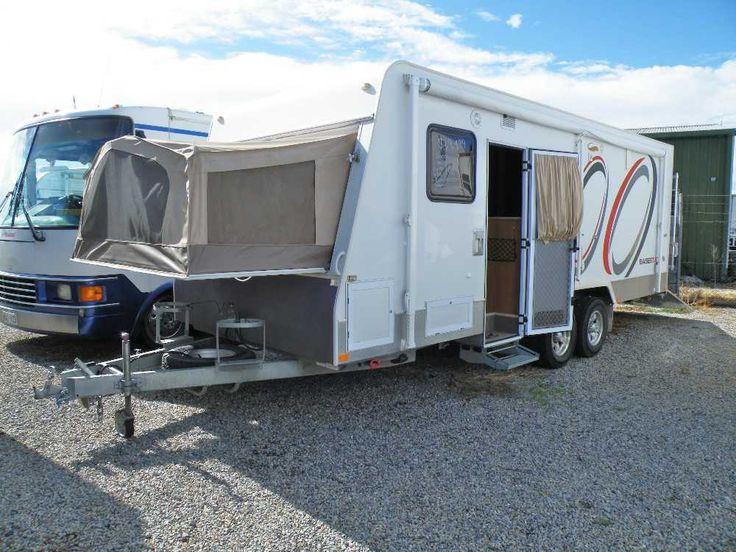 Like to head off camping and take the bikes? This is the one for you! Jayco Basestation Expanda van, year 2008, ramp/deck, sleeps 6, 1 x queen bed, table folds down to double, 2 x single fold up bunks in the back (or can be used for work benches) shower/toilet/hand basin, large 3 way fridge, 4 burner cooktop with grill, gas/electric hot water,  ramp has cables so you can back upto the river sit on the deck and throw in the line! Mass: 2137 GTM: 2388 ATM: 2737 Inspection Welcome Aldi...