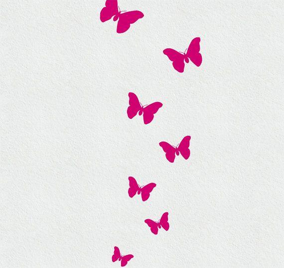 Best Butterfly Wall Decals Ideas On Pinterest Butterfly Wall - Wall decals butterfliespatterned butterfly wall decal vinyl butterfly wall decor