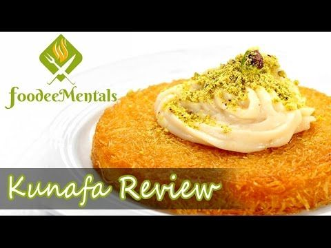 Our #Foodistani decided to try an exotic dessert called #Kunafa which is very hard to find in #Mumbai.