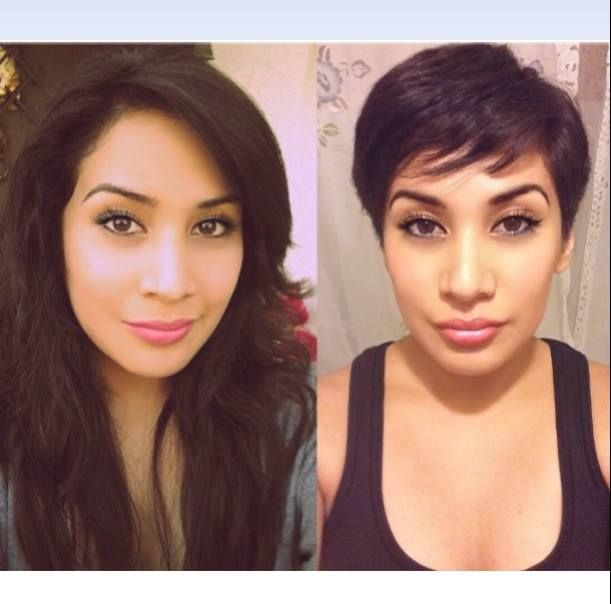 Marvelous 1000 Images About Haircuts And Color Before And After On Pinterest Hairstyles For Women Draintrainus