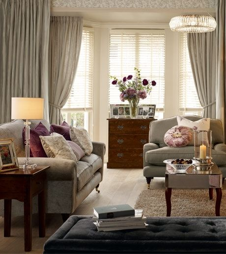 Collection - Peony Amethyst - Laura Ashley styled by Charis White.  Photography: Chris Everard.