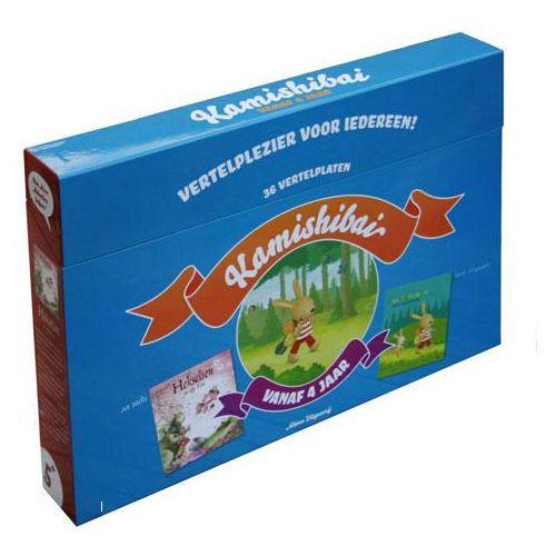 Kamishibai. Vertelplezier voor iedereen! Box oudste kleuters: Klein konijn gaat kamperen / Hekselien en Elfje Fien.