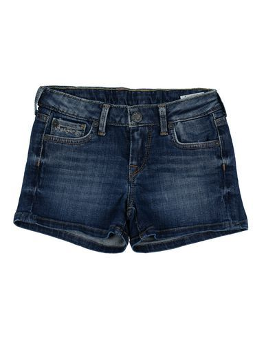 PEPE JEANS Girl's' Denim shorts Blue 4 years