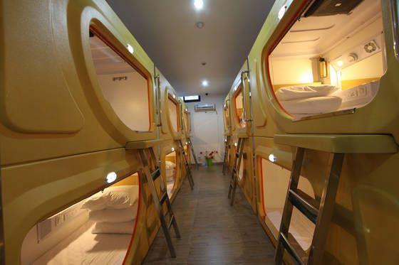 Sell great capsule mini bed room sleep box for hotel equipment