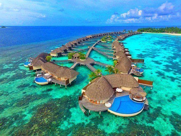 Райское местечко на Мальдивах