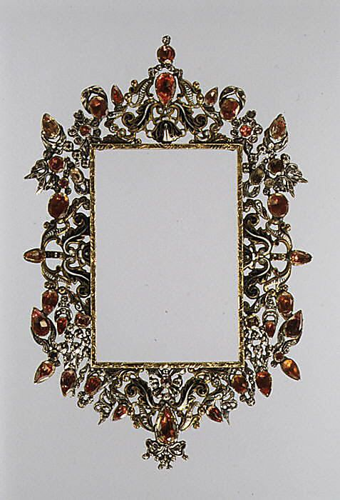 Frame Date: late 17th–early 18th century Yes, please.