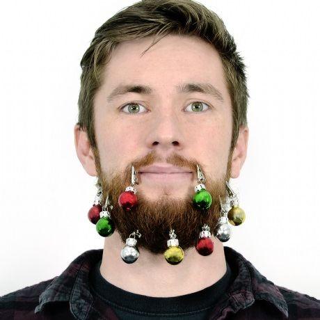 Beard Christmas Baubles
