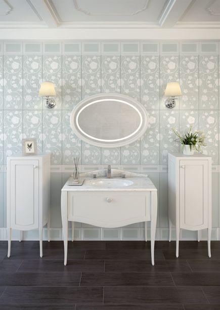 VitrA Global - Elegance Wasbasin, Units and Mirror - Bathroom ideas