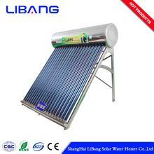 150 liters vacuum tube stainless steel tata solar water heater price