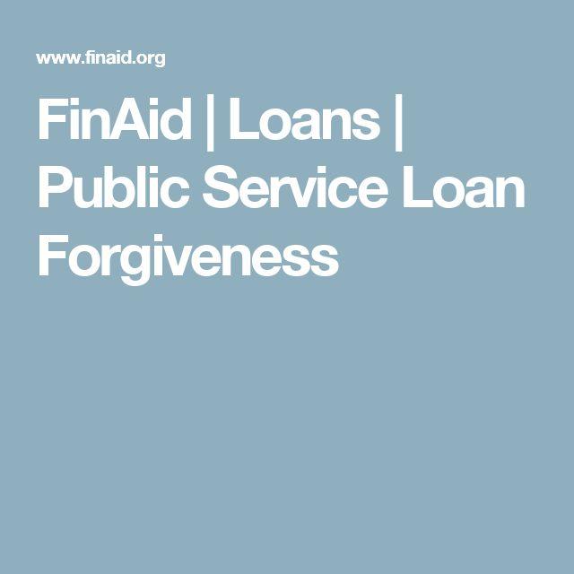 FinAid | Loans | Public Service Loan Forgiveness