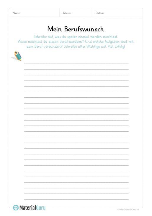 ein kostenloses arbeitsblatt zum thema berufe auf dem die sch ler aufschreiben sollen was sie. Black Bedroom Furniture Sets. Home Design Ideas