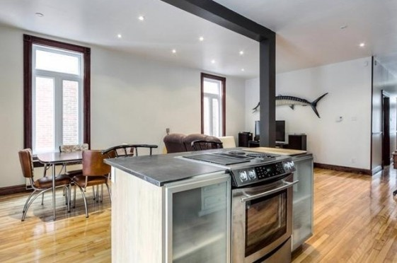 Immobilier de luxe   Achat Appartement Montreal Canada   Vente Superbe Condo Dans Une Bâtisse Historique à Montreal