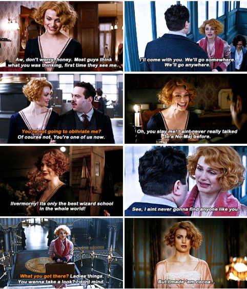 I came into this just so deeply in love with Queenie as a character and wanting to be a part of this with every ounce of me. ― Alison Sudol