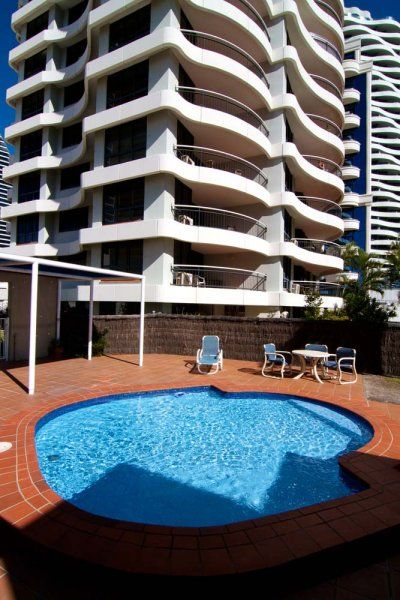 Victoria Square Apartments - Young childrens wading pool - Gold Coast Broadbeach Apartments