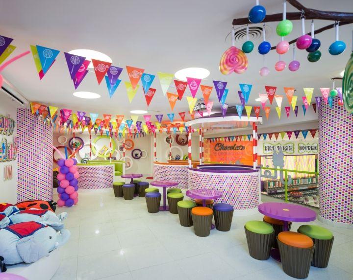 Candylicious at The Dubai Mall by Studio EM, Dubai  UAE  Retail Design  Blog