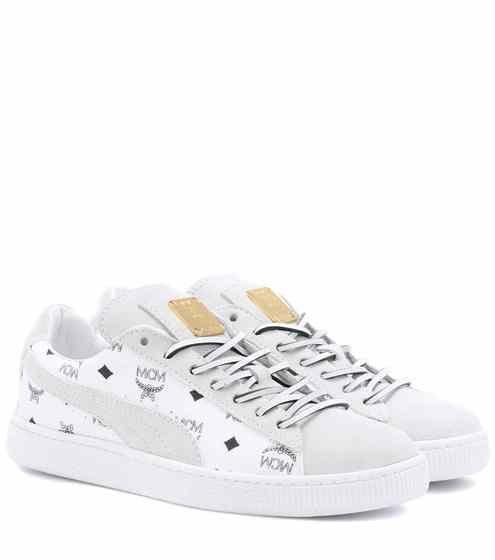 Baskets en cuir et daim x MCM | Puma | Schuhe | Schuhe