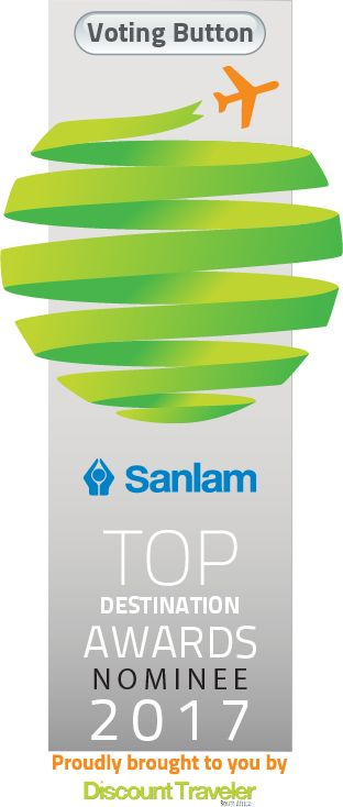 Submit your vote for an automatic entry to WIN one of 9 David Green Timepieces valued at R4000.00 each. Click on the image to vote!  Established by Discount Traveler South Africa, the Sanlam Top Destination Awards event is in its third year running with SANLAM as the Title Sponsor!