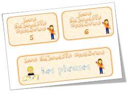 Le jeu des adjectifs mystères ; l'élève pioche une phrase + 2 adjectifs à ajouter à la phrase en faisant les accords (à adapter pour le CE1 -juste le GN par exemple ?- pour travailler les accords) : super idée !