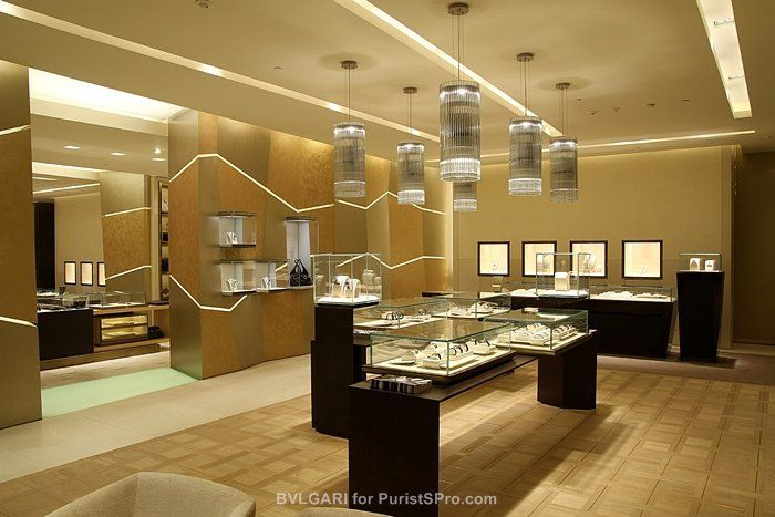 Unique Jewelry Displays Bulgari - Bulgari open...