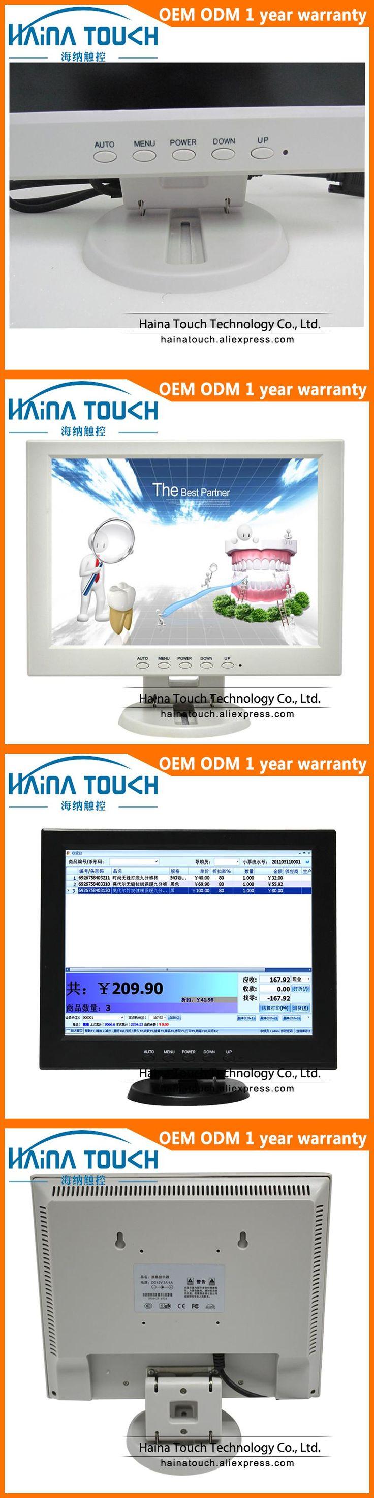 TFT 4:3 10 Inch LCD Monitor PC 10.4 Inch Computer LED Backlight Monitor VGA 800*600 Desktop PC Monitor
