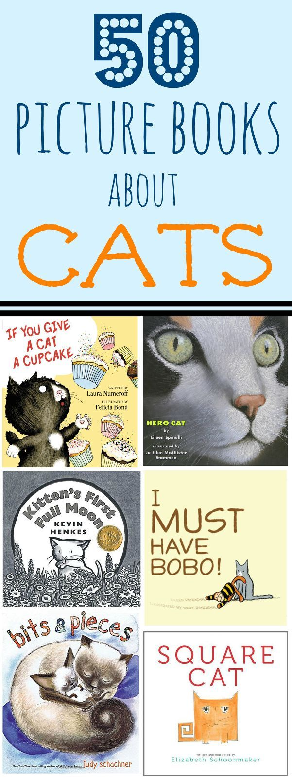 I have been doing a little preschool with my daughter and a few weeks our theme was all about cats. We made some cute paper plate cats, learned that K is for kitten and we read a lot of books about cats. Here is a list of our favorites.