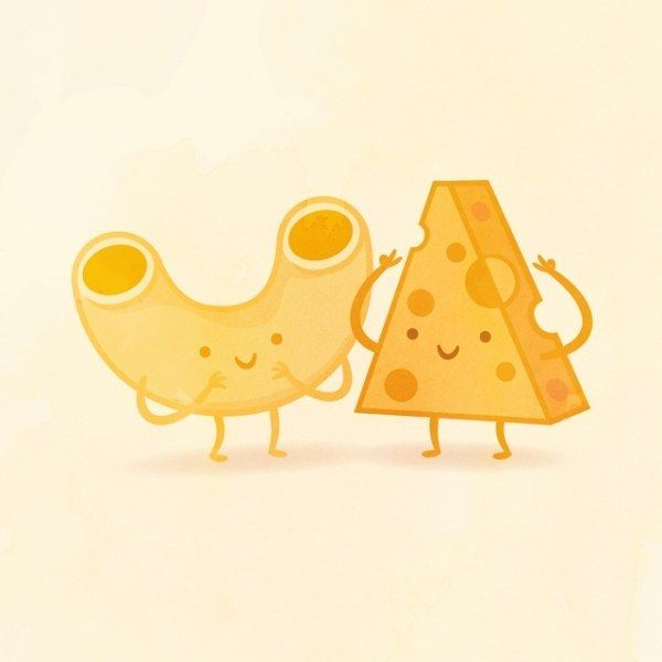 I got Mac and Cheese! Which Adorable Food Pair Are You And Your Best Friend?
