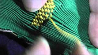 Tutorial No.9,  ( la técnica básica para bordar los dibujos en nido de abeja o punto smock ) - UCU-ctOIc24UChAFxNDWqwog - PHP Video Search