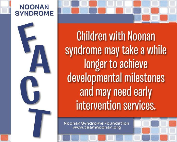 Noonan Syndrome Awareness Month Fact Day 5 ( 2016 )