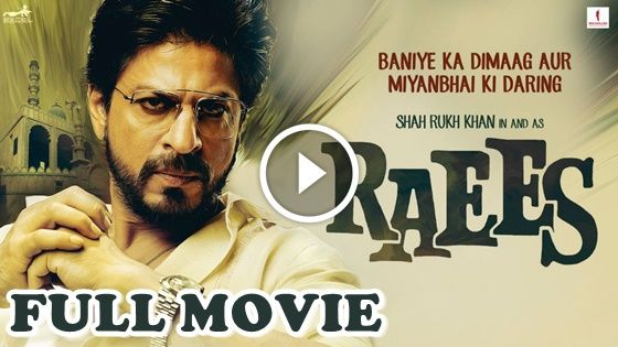 Raees 2017 Full Movie Watch Online in 720p quality. Download Bollywood Movie Raees (2017) in High Quality with a single Direct click.